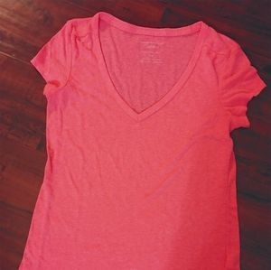 American Eagle Outfitters Favorite Tee (Coral)
